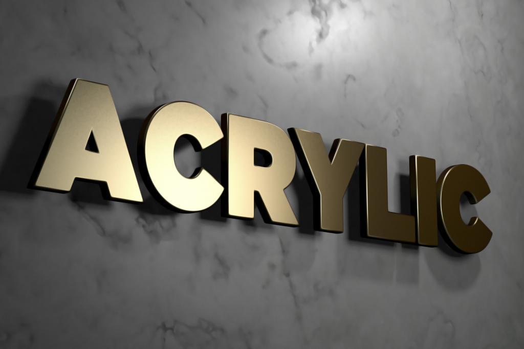 Beleuchtete Einzelbuchstaben an einer Wand - Werbetechnik