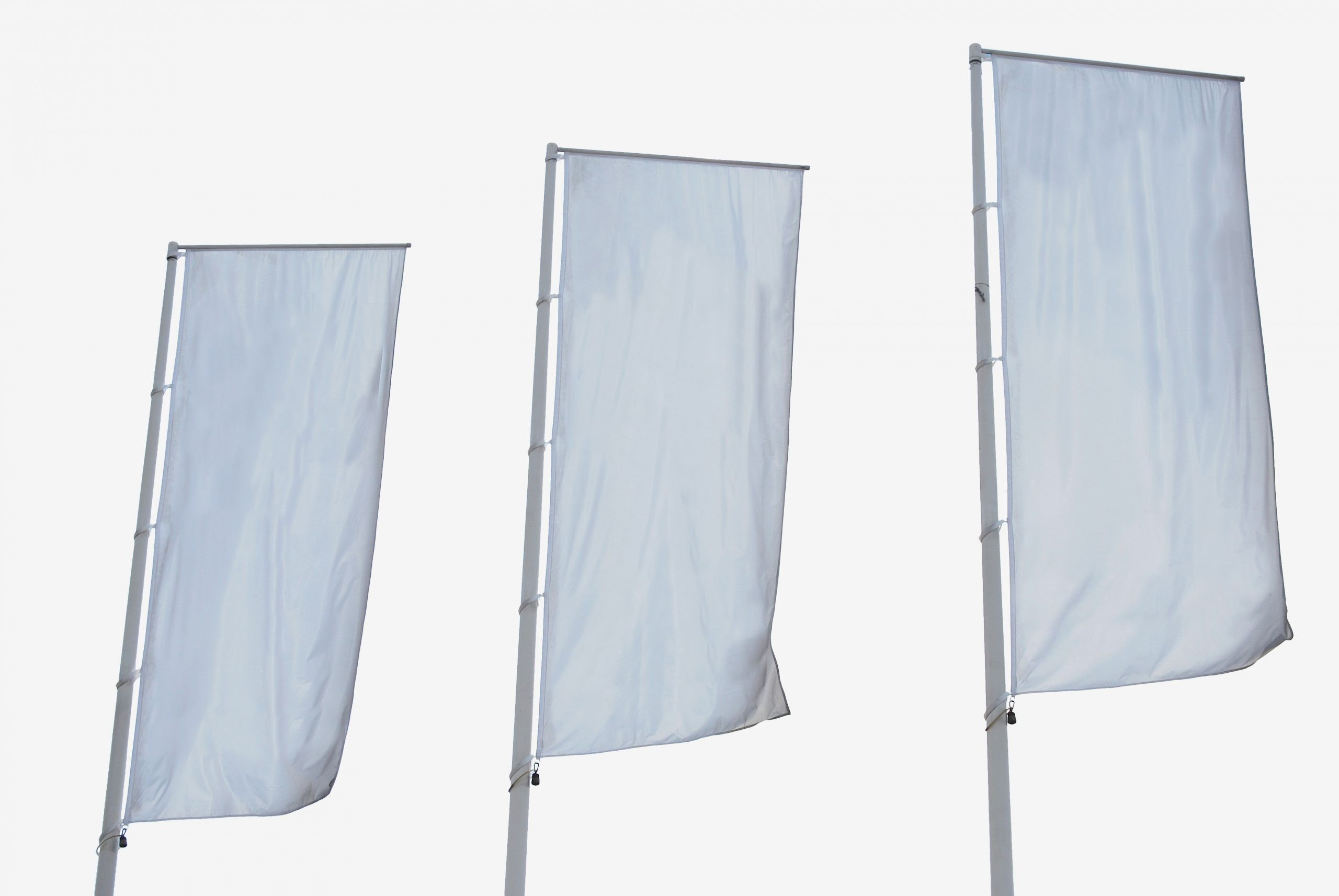 Eine Fahne ist zu sehen